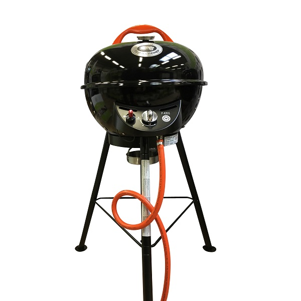 outdoorchef p 420 g city tripod gasgrill schwarz b ware ebay. Black Bedroom Furniture Sets. Home Design Ideas