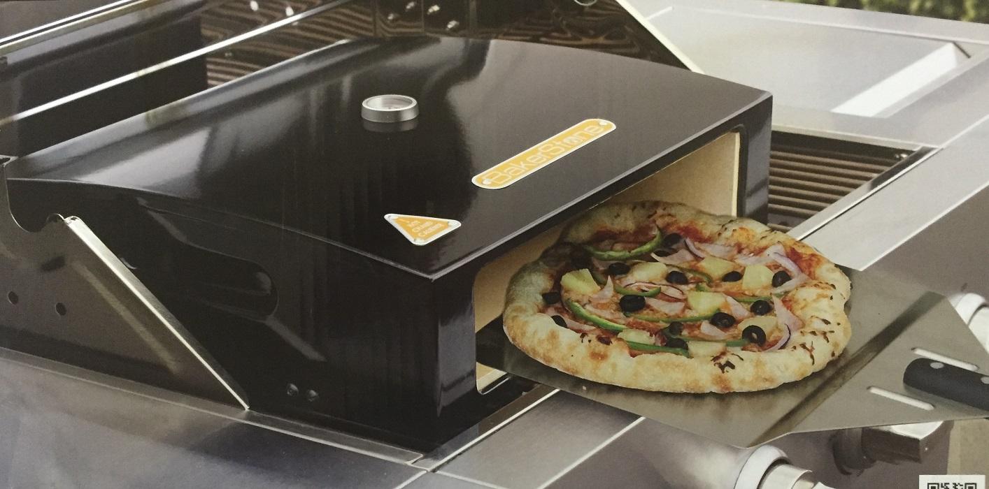 bakerstone l pizzaofen aufsatz f r holzkohle und gasgrills ebay. Black Bedroom Furniture Sets. Home Design Ideas