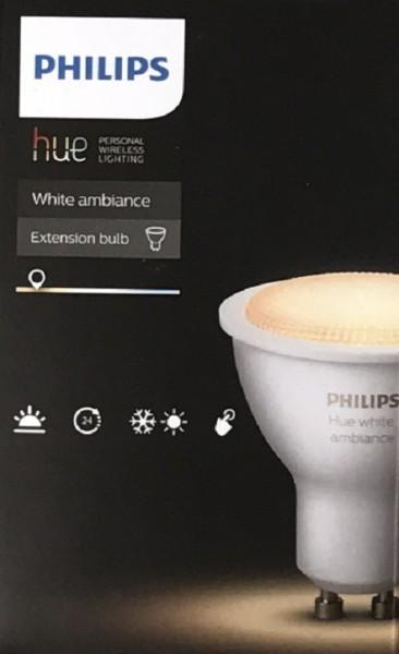 Philips Hue White Ambiance Erweiterung LED 5,5 W GU10 B-Ware