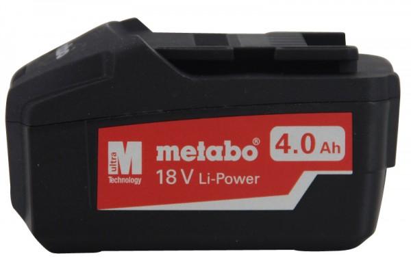 Metabo Akkupack 18V 4,0 Ah Li-Power Ersatzakku 625591000