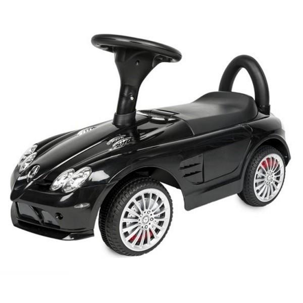 Mercedes SLR McLaren Aufsitz-Kinderauto Rutschauto schwarz