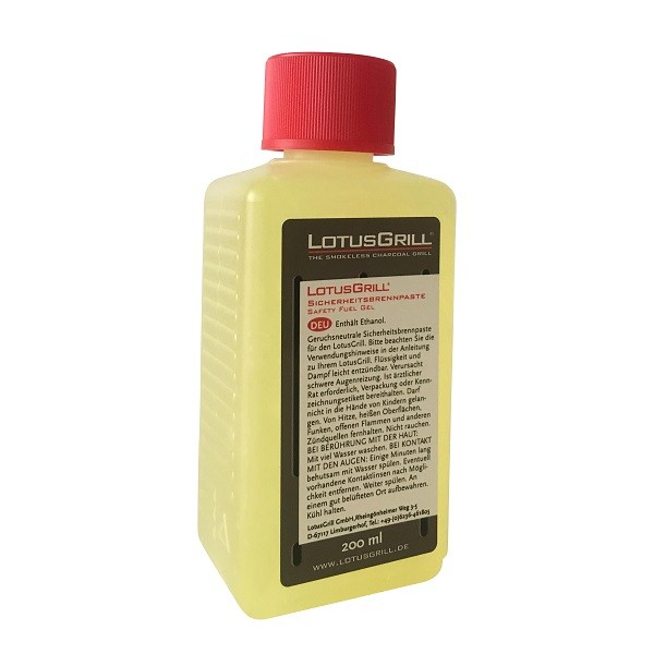 LotusGrill BP-L-200 Sicherheitsbrennpaste 200 ml
