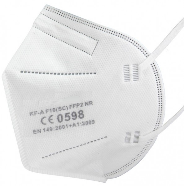 1x Care Profi FFP2 NR Atemschutzmaske CE 0598 EN 149:2001 Größe L