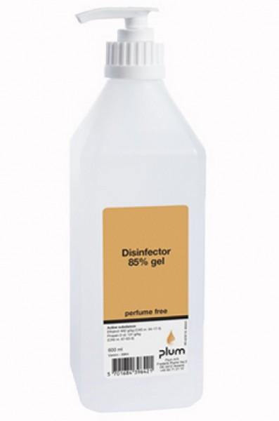 Plum Hygiene Biozid Handdesinfektion 85% Desinfektionsmittel 600 ml