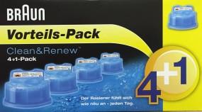 Braun CCR 4+1 (5 Stk.) Reinigungskartuschen Clean & Renew
