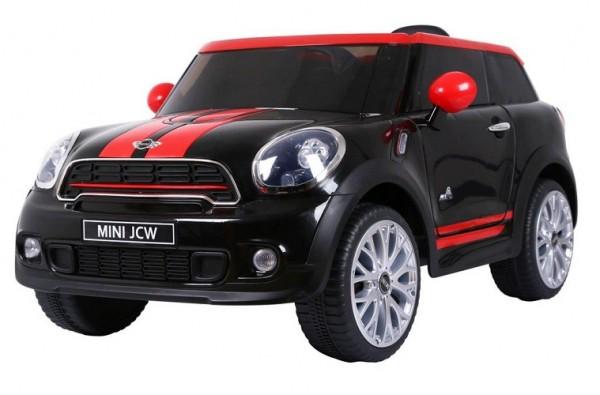 Mini Cooper Paceman RC Elektroauto 12V Batterie 2x 35W Motoren schwarz
