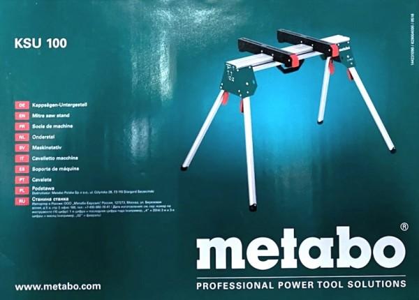 Metabo KSU 100 Maschinenständer 629004000 B-Ware