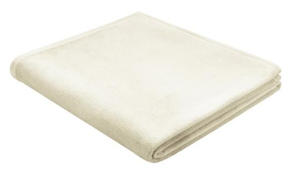 Biederlack Wohndecke Soft & Cover 180x220 cm natur