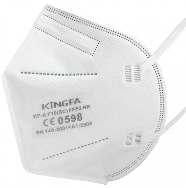 1x KingFA Profi FFP2 NR Atemschutzmaske CE 0598 EN 149:2001 Größe L