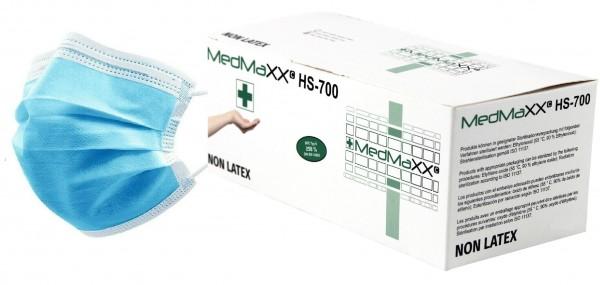 MedMaXX HS-700K-HB medizinische Kinder OP Maske EN 14683 hellblau 50 Stück