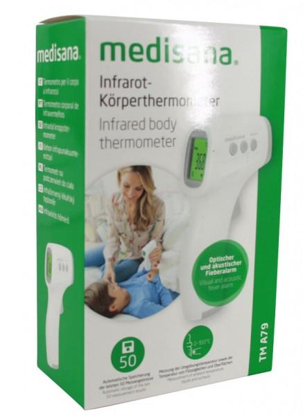 Medisana TM A79 Infrarot Körperthermometer mit Farbwechsel